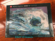 Heye Waves Map Oil Painting Map Series 2000 Adult Decompression Puzzles Toys New