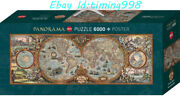 Heye Jigsaw Ancient World Map Map Series 6000 Piece Puzzles New Sealed Rare