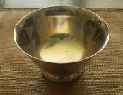 Wm. A. Rogers Paul Revere Reproduction 4 Inch Silver Plated Bowl With Insert