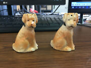 Vintage Dogs Salt And Pepper Shaker Made In Occupied Japan