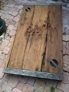 Wwii Liberty Ship Old Hatch Cover Tableandnbspbought From Ron Jons 1960and039s Cocoa Beach