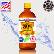 Hand Sanitizer 80 Alcohol Meets Who/cdc - Fresh Scent - Usa - Sizes 8oz-3gal