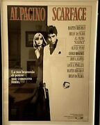 Scarface Poster Framed Collectible Movie Memorabilia Rare Authentic Limited Al