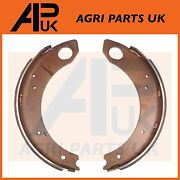 Pair Brake Shoes With Linings For Ford 2000 2600 2610 3000 3600 3610 Tractor