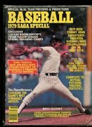 Baseball Magazine Saga Special 1979 Ron Guidry New York Yankees Cover
