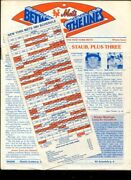 Baseball Magazine New York Mets 1981 Between The Lines And Schedule