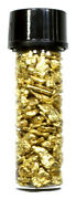 5 1 Dram Glass Vial Screw Cap For Natural Gold Nuggets B100contains No Gold