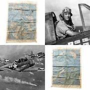 Wwii Aaf Cloth Escape Map Philippine Series Asiatic Of No. C-41 And No. 42 Relic