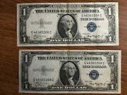 1935a Series 1 Currency Silver Certificates 1935 A Kangaroo Pair
