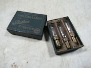 Vintage/antique 1920's Mazda Lamps Pathex Motion Picture Projector Light Bulbs