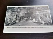 Experimental Refrigerated Plant Sibley College Cornell Rppc Photo Postcard N.y.