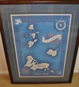 Lake Erie Islands... Lithograph 70/1000......by William Kless.......very Nice