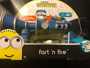 Minions The Rise Of Gru Fart N Fire Blaster 20+ Sounds Farts And Laughs Movie 2020