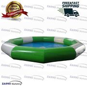 16x2.1ft Commercial Inflatable Pool For Walking Ball With Air Pump