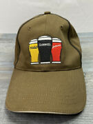 Guinness Harp Smithwicks Embroidered Cap Hat Three Beers Strong Ships Boxed Euc