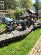 2017 20and039 Single Axle Bed Trailer For Motorcycle And Sidecar Trike Project