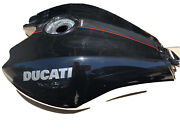 2017 Ducati Xdiavels Fuel Tank And Right Hand Mirror