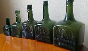 Collectionrare Carl Mampe Berlin Antique 1880 Germany Bottle Old Glass Elephant
