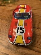 Stunt Car Tin Toy Vehicle Made In Japan Modern Toys Vintage Rare Collectible