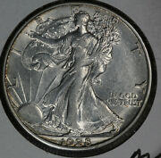 Nice Almost Uncirculated 1928-s Walking Liberty Half Dollar - Light Hairlines