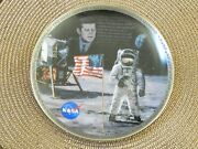 Collector Plate By Bradford Exchange- Space Plate The Eagle Has Landed