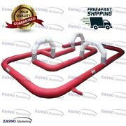 39x26ft Commercial Inflatable Race Track Go Kart With Air Blower