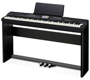 Nib Casio Privia Px-360 Digital Piano Keyboard Black With Stand And Pedals