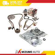 Timing Chain Kit Timing Cover Water Pump Fit 07-11 Chevrolet Gmc Hummer 2.9 3.7l