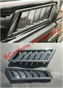 W463 Carbon Side Air Vent Intakes Brabus Style G-class Mercedes-benz G63 G65