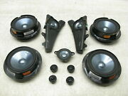 06-09 Mercedes W251 R350 R500 Front And Rear Left And Right Door Speakers Set 05042