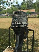 1985 70 Hp Three Cylinder Evinrude Outboard Engine