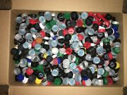Plastic Soda Bottle Caps Mixed Colors 3100+ Pc Lot Art And Crafting