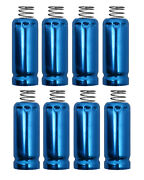 Spark Plug Wire Boot Heat Shield Protectors Set Of 8 For Ls And Lt Engines Blue