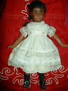 Antique 12 Jointed Bisque Doll C1891 Bahr And Proschild 277 Dep With Pierced Ears