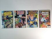 Dc Comic Lot Of 4 Justice Society 3 And Justice League America 51 83 102