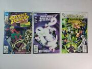 Dc Comic Lot Of 3 Justice Society Of America 3 And Justice League America 28 47