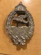 German Reich Wwi Imperial Retired Pilot Badge