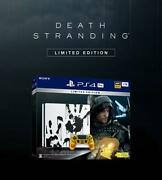 Playstation4 Pro Death Stranding Included Version New Product Un No.3