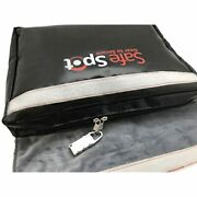 Safespot Large Fireproof Document Bag 15.9andrdquo X 13andrdquo With Lock Storage