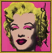 Framed Andy Warhol Marilyn Monroe3 Giclee Canvas Print Paintings Poster