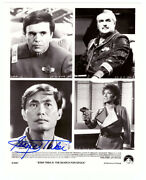 Autographed George Takei 8x10 Press Photo From Star Trek Iii Search For Spock