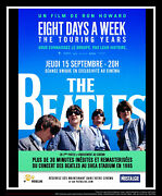 Beatles Eight Days A Week 4x6 French Grande Rolled Movie Poster Original 2016