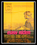 Easy Rider Style C 4x6 Ft Vintage French Grande Movie Poster Original 1969