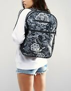 Adidas Originals W Farm Company Lacy Floral Black White Backpack New 683