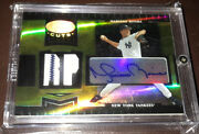 2004 Leaf Certified Cuts Mariano Rivera Jersey Auto Autograph 6/10 Yankees Sick