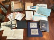 Archive Lot Of Koch Family Papers And Photos, Davenport Iowa, Wwi, Sports Ca. 1915