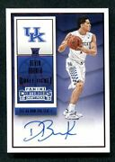2015-16 Contenders Draft Devin Booker Auto Red Foil Retail 115 Ssp Kentucky