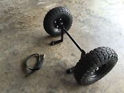 Rtic Cooler 65 Wheel Tire Axle Kit--cooler Not Included