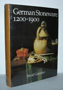 David R M Gaimster / German Stoneware 1200-1900 Archaeology And Cultural 1st Ed