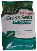 Scotts Centipede Grass Seed And Mulch Covers 2000 Sq. Ft. - 5 Lbs.